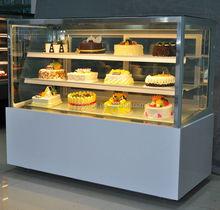 Cake Display Showcase use White marble base