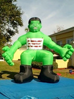 Attractive Giant advertising inflatables green monster/INFLATABLE GREEN MONSTER/BLOWER 4 ADVERTISING PROMOTIONS