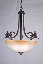 Indoor UL cUL CE listed yellow color ORB finished Hanging light Pendant Light