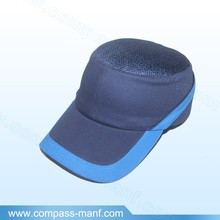 Protective Blue Bump Cap Modern Safety Mesh Helmet