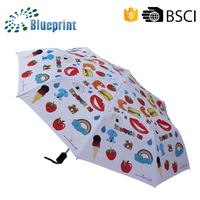 "23"" Convenience carry best selling auto fold umbrella sunscreen"