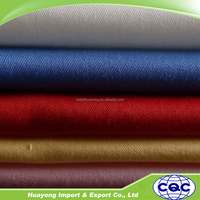 100 cotton twill 3/1 fabric for mens suit