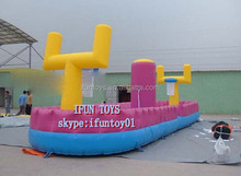 bungee basketball game inflatables / bungee basketball court / inflatable bungee basketball hire