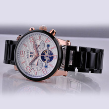 Luxury Hollow mechanical men's watch fast track digital watches
