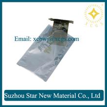 3 mil thick aluminized plastic pouches / esd protective aluminized static shielding bag