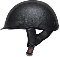stylish Solid color unique motorcycle novelty Helmet carbon fiber like