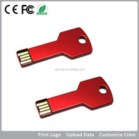 Customized Key style USB memory drive, USB memory lowest price in alibaba