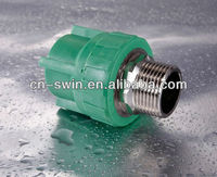 superior quality white or green Male Female Threaded Union for agricuture