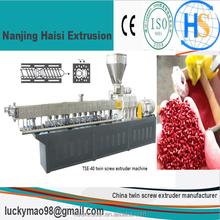 Haisi lab pet film pelletizing extrusion equipment making machine