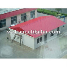 cheap prefab home/prefabricated houses as warehouse with EPS sandwich panel