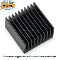 Hot selling OEM Pattern balck teeth Heatsink Aluminum 6063-T5