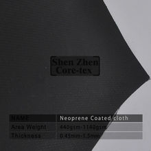 neoprene coated fiberglass fabrics