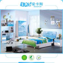 latest discount children bedroom set 8356