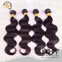 armadura de importación del pelo remy indio, pelo indio virginal por mayor