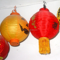 Chinese tradition red paper lantern balloons in new year supplies