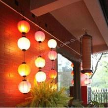 LED battery paper lantern assortment