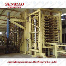 Hot sale particle board machinery/mdf board short cycle lamination hot press machine /particle board press