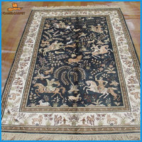 4x6 foot 122x183 cm hand kontted persian home carpets