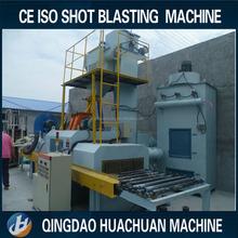 Ceramic tile shot blasting machine / rust removal machine