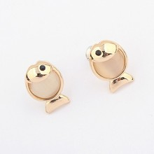 Goldfish Style Decorative Fine Workmanship Popular Stud Earring China Supply
