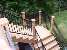 2015 New products balcony stainless steel railing design