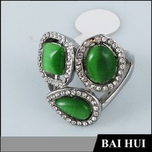 Manufacturer Latest Designs Personalized Fashion Mens Emerald Rings/Wholesale Fashion Emerald Rings