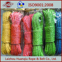 outdoor colored polyethylene clothing line hanging clothes line