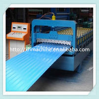 850 Roller Corrugating R Deck Profile Roofing Sheet Steel Tile Forming Machine Manufacturing Equipment