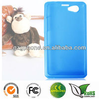 TPU soft case cover for Sony Xperia Z1 mini
