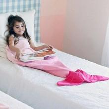 Customized Mermaid Tail Blanket
