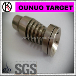 Titanium nail GR1 GR2 titanium price 10mm.14mm.18mm male and female