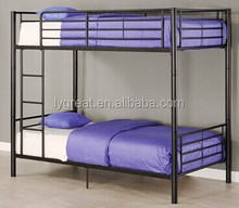 iron bunk bed for adult/kid bed/ double decker metal bed/