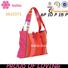 double strap cotton beach bag