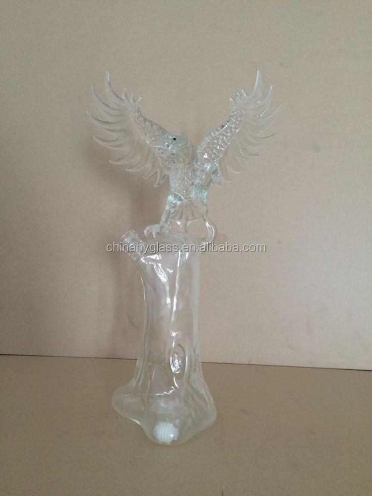 750ml frosted hotsale wine glass bottle for vodka for Purple wine bottles for sale