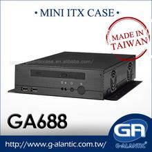 GA688 mini desktop pc case for security system computer sets