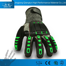 General purpose impact resistant mechanical work gloves