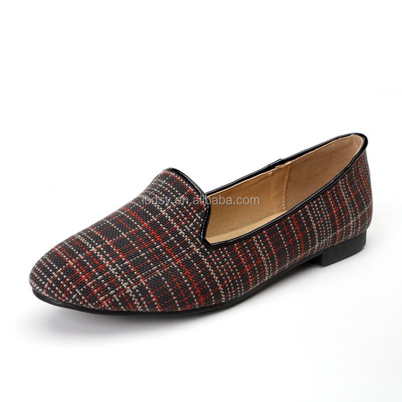 footwear wholesale ladies beautiful casual flat shoes