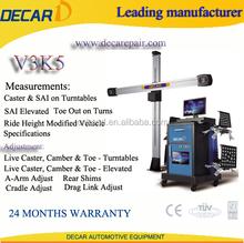 decar provide hunter wheel alignment equipment ce V3K5