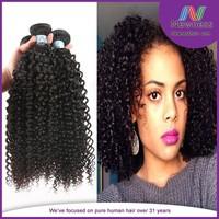 100% unprocessed Tight Kinky Curly Human Bundle Brazilian Hair