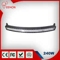 Made In China Auto Part Jeep Accessories 240W LED light bar LED Bar Bracket