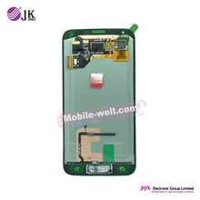 [JQX] OEM replacement lcd screen for samsung galaxy s5 i9600 lcd, mobile phone spare parts for samsung s5
