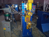 Nuts Automatic Feeding System and Automatic Nuts Welding Machine