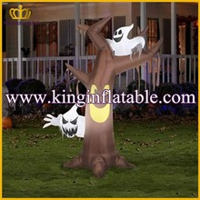 Professional Factory Sell Inflatable Halloween Ghost Tree, Airblown Halloween Inflatable Decorate Product