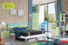 Mejor venta kid dormitorio muebles niños cama king size para el niño y niña