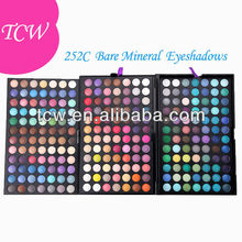 Maquillaje de encargo paleta Shimmer 252 Color Eyeshadow Palette