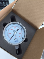 Models 232.30, 233.30 Bourdon tube pressure gauge .All stainless steel pressure gauge /high accuracy pressure gauge /wika type