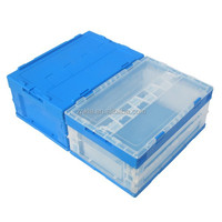 Plastic storage bin customized color item with foldable feature