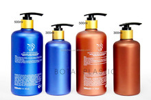 300ml 500ml Plastic shampoo bottle