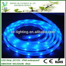 High quality flexble 3528 ip65/ip54 led strip lighting outdoor