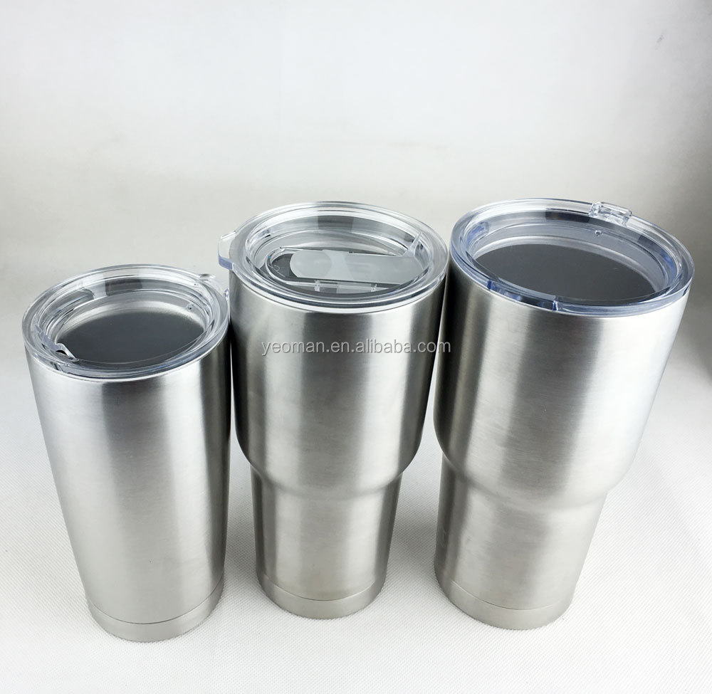 20 Oz 24 Oz 30 Oz Vacuum Insulated Steel Tumbler Cups With